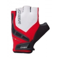 Chiba Fahrrad Handschuhe BioXcell rot/schwarz/weiss