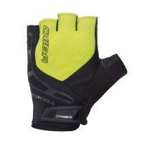 Chiba Fahrrad Handschuhe BioXcell neongelb/schwarz