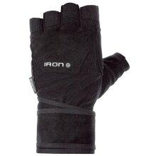 Chiba Fitness Handschuhe Iron II schwarz