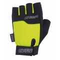 Chiba Fitness Handschuhe Power neongelb/schwarz