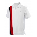 Head Polo Baddley weiss/rot Herren