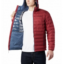 Columbia Übergangsjacke Powder Lite Hooded rot Herren