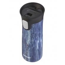 Contigo Trinkflasche Couture Pinnacle Thermo Edelstahl 420ml blau