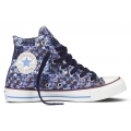 Converse Chuck Taylor AS Print high blau Sneaker Damen