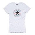 Converse Shirt AWT weiss Damen (Größe M)