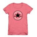 Converse T-Shirt AWT pink Damen