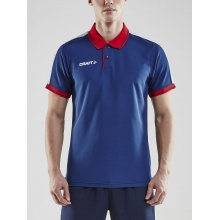 Craft Polo Pro Control navy/rot Herren