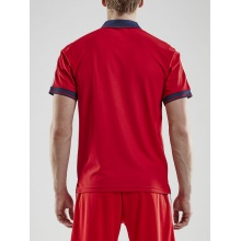 Craft Polo Pro Control rot/navy Herren