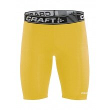 Craft Kompressions-Boxershort (enganliegend) Pro Control gelb Herren