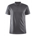 Craft Sport-Polo Core Unify granitgrau Herren