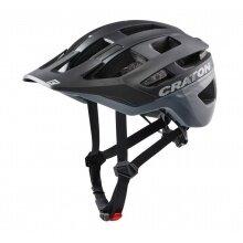 Cratoni Fahrradhelm AllRace schwarz/grau matt