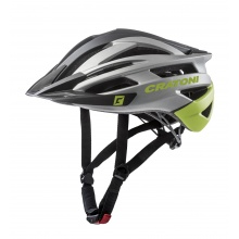 Cratoni Fahrradhelm Agravic anthrazit/lime/black matt