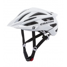 Cratoni Fahrradhelm Agravic weiss