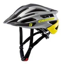Cratoni Fahrradhelm Agravic anthrazit/gelb/schwarz matt
