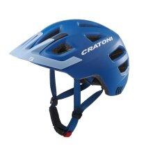Cratoni Fahrradhelm Maxster PRO Kinder blau/himmelblau matt