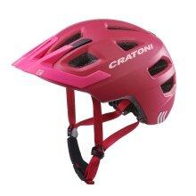 Cratoni Fahrradhelm Maxster PRO Kinder pink/rose matt