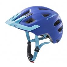 Cratoni Fahrradhelm Maxster PRO #19 Kinder blau matt