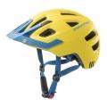 Cratoni Fahrradhelm Maxster PRO Kinder gelb/blau matt