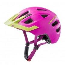 Cratoni Fahrradhelm Maxster PRO #19 Kinder pink/lime matt