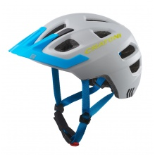 Cratoni Fahrradhelm Maxster PRO Kinder grau/blau matt