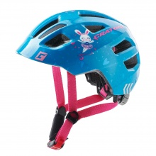 Cratoni Fahrradhelm Maxster Kinder blau Hase