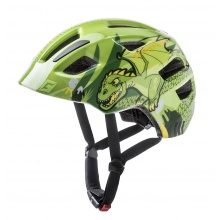 Cratoni Fahrradhelm Maxster Kinder grün Drache