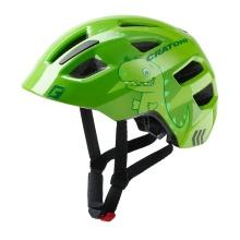 Cratoni Fahrradhelm Maxster Kinder grün Dino
