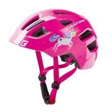 Cratoni Fahrradhelm Maxster Kinder pink Einhorn