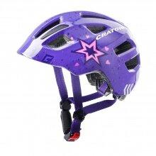 Cratoni Fahrradhelm Maxster Kinder violett Stern
