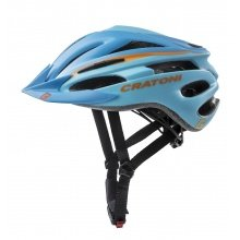 Cratoni Fahrradhelm Pacer blau/orange matt