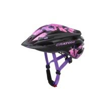 Cratoni Fahrradhelm Pacer Junior schwarz/pink matt