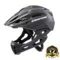 Cratoni Fahrradhelm C-Maniac (Full Protection) schwarz matt