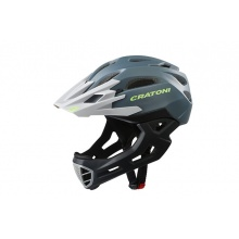 Cratoni Fahrradhelm C-Maniac (Full Protection) anthrazit/schwarz matt
