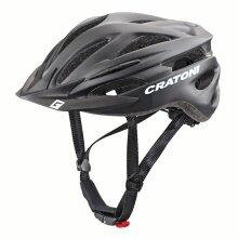 Cratoni Fahrradhelm Pacer schwarz matt