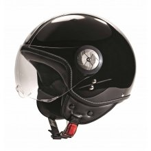 Cratoni Helm Milano schwarz/weiss
