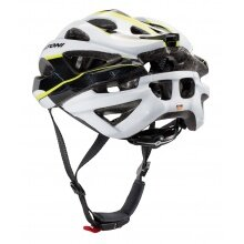 Cratoni Fahrradhelm C-Bolt anthrazit/weiss/lime