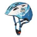 Cratoni Fahrradhelm Akino Kinder weiss/blau/pirat