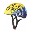 Cratoni Fahrradhelm Akino Kinder gelb/blau