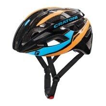 Cratoni Fahrradhelm C-Breeze schwarz/blau/orange