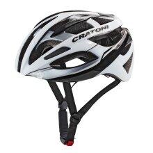 Cratoni Fahrradhelm C-Breeze weiss/schwarz