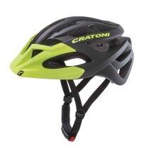 Cratoni Fahrradhelm C-Hawk schwarz/grün