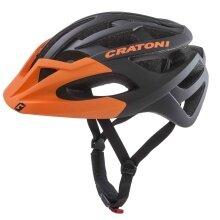 Cratoni Fahrradhelm C-Hawk schwarz/orange