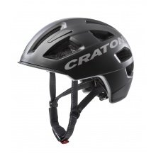 Cratoni Fahrradhelm C-Pure schwarz matt