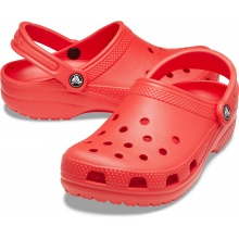 Crocs Classic Clog rot Sandale Herren/Damen