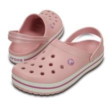 Crocs Crocband Clog pearl pink/wild orchid Sandale Damen