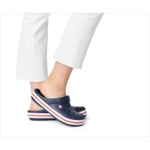 Crocs Crocband Clog navy/weiss/rot Sandale Herren/Damen