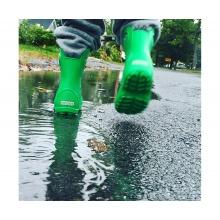Crocs Handle It Rain Boot grün Gummistiefel Kinder
