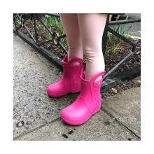 Crocs Handle It Rain Boot pink Gummistiefel Kinder