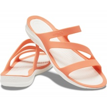 Crocs Sandalen Swiftwater grapefruit/weiss Damen