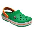 Crocs Crocband Clog grün Sandale Kinder
